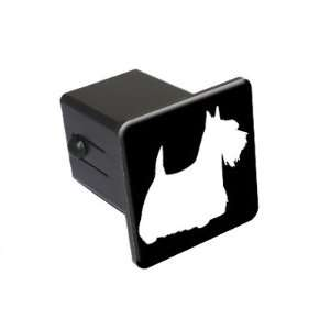 Scottish Terrier   Dog   2 Tow Trailer Hitch Cover Plug Insert Truck