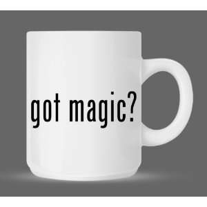 got magic?   Funny Humor Ceramic 11oz Coffee Mug Cup
