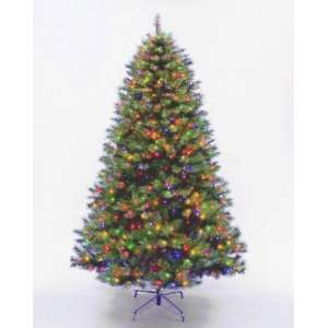 National Tree Company LEX1 301 75 7.5 Foot Lexington Fir Hinged Tree