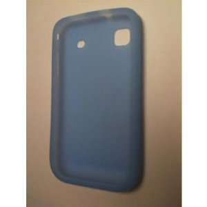 Light Blue Silicone Skin Case for Samsung i9000 Galaxy S