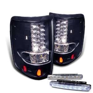 Eautolights 04 08 Ford F150 Styleside LED Tail Lights + Bumper Fog