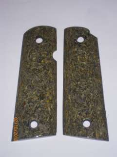 KK CUSTOM STABILIZED SUNFLOWER SEED HULLS 1911 GRIPS 1/1