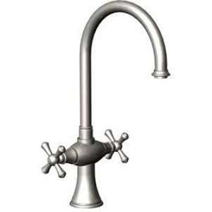 Rubinet Faucets 8DRBFMC Single Hole Kitchen Set Polished