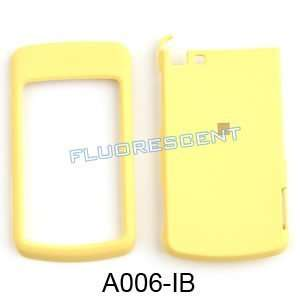 Motorola i9 Fluorescent Solid Yellow Hard Case,Cover,Faceplate,SnapOn