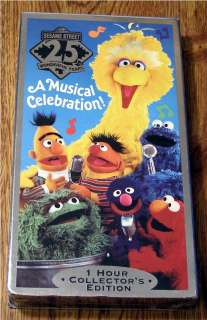 Sesame Streets 25th Birthday A Musical Celebration 074645131931