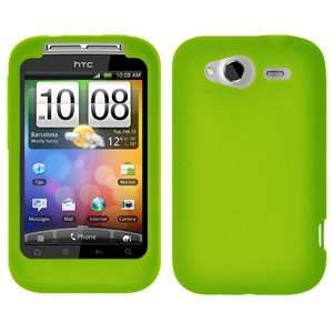 New High Quality Amzer Silicone Skin Jelly Case Green For
