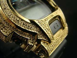 SHOCK/G SHOCK MENS DIAMOND WATCH GOLD JOE RODEO JOJO