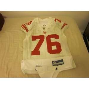 2008 New York Giants NFL Game Used Jersey #76 Chris Snee   NFL Jerseys