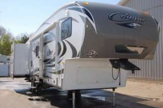 2012 Keystone COUGAR 293SAB Double Slide Fifth Wheel RV Bunks SAVE