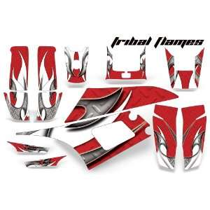 AMR Racing Yamaha Warrior 350 ATV Quad Graphic Kit  Tribal