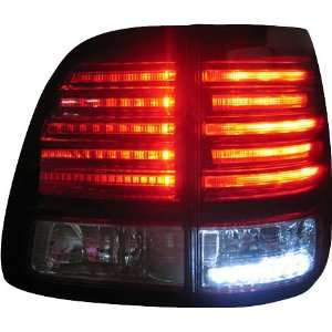Toyota Land Cruiser FJ100 LED Tail Light Lexus LX470 Look