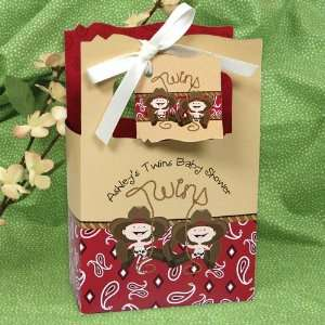 Little Cowboys   Classic Personalized Baby Shower Favor Boxes Toys