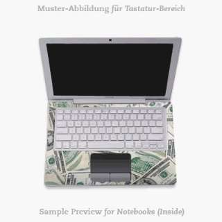 Tastatur (Inlay)   Mr. Franklin Laptop Notebook Decal Skin Sticker