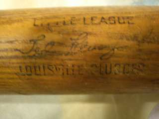 KLUSZEWSKI LOUISVILLE SLUGGER 125J LITTLE LEAGUE BASEBALL BAT, READ