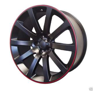 20 RED STRIPE 300C SRT8 Charger Magnum Wheel Rim