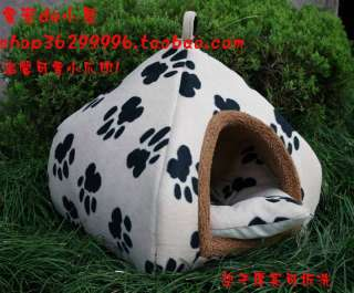 Shaped Pet/Dog/Cat House WARM & FOLDABLE 4 Colors CUTE