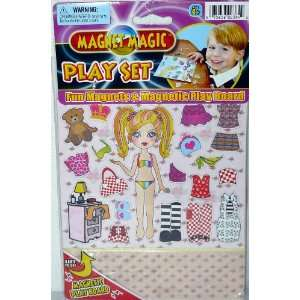 Magnet Magic Play Set Fun Magnets and Magnetic Play Board