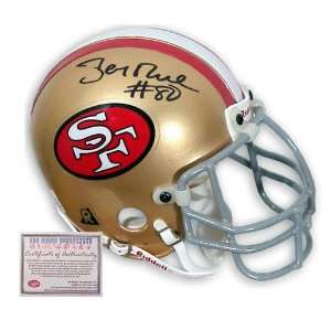Jerry Rice San Francisco 49ers Autographed Mini Helmet