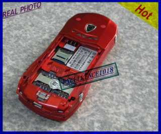 NEW UNLOCKED red SLIDER CAR MOBILE PHONE CAMERA MP4 GSM NETWORK CAR