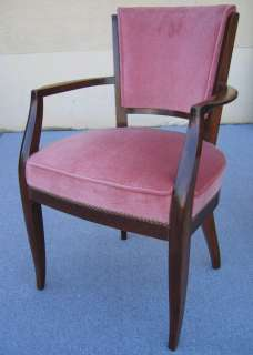 6044   Pair of French Art Deco Bridge armchairs circa 1930s