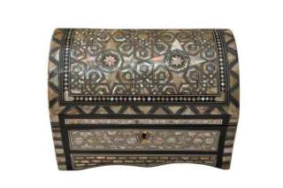 up for sale high quality mosaic wood jewelry box with