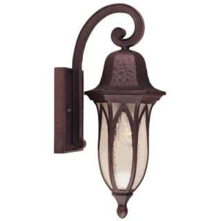 Hampton Bay Wall Mount Outdoor Bronze Lantern  DISCONTINUED HD263125