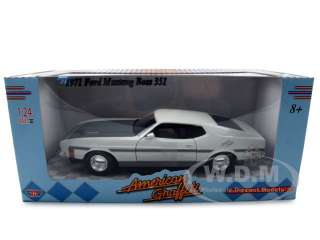 car model of 1971 Ford Mustang Boss 351 American Graffiti die cast