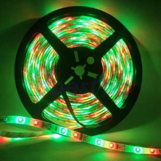 USA 5M 3528 RGB Waterproof Flexible Strip 300 LED Light + IR remote