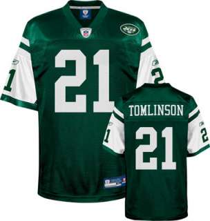 Tomlinson Youth Jersey Reebok Green #21 New York Jets Replica Jersey
