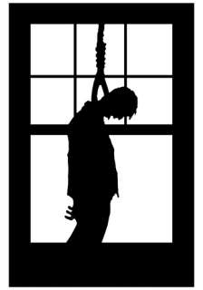 Home Halloween Decorations Door / Window Hanging Man Window Cling