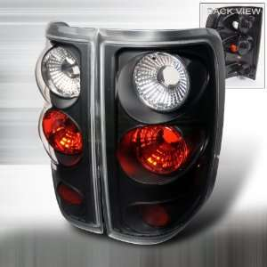 2004 2008 Ford F150 Altezza Tail Light Black Automotive
