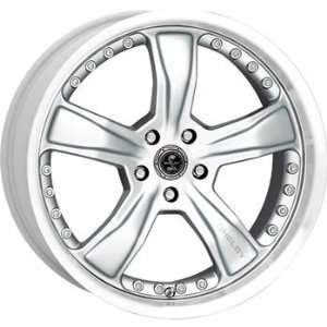 American Racing Shelby Shelby Razor 20x9 Silver Wheel / Rim 5x4.5 with