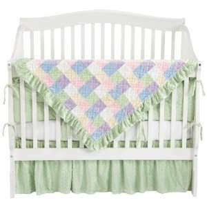 Soft Baby 4 Piece Patchwork Crib Bedding Set