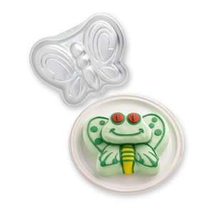 butterfly & frog cake pan