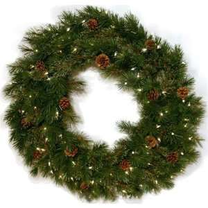 Good Tidings 4750017 Royal Cashmere Artificial Prelit Christmas Wreath