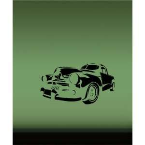 Decal Mural Classic Old American Car Hot Rod T45