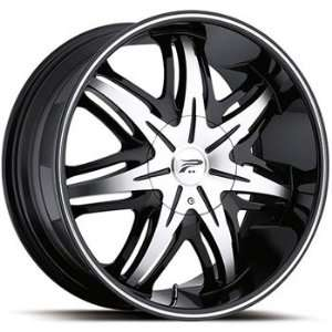 Platinum Cloak 20x8.5 Black Wheel / Rim 5x120 & 5x4.5 with