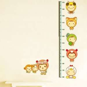 Children Height Ruler Wall Sticker
