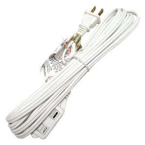 Sunlite Ex12 12w 12 Ft White Extension Cord