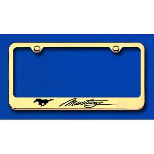 Ford Mustang Custom License Plate Frame Automotive