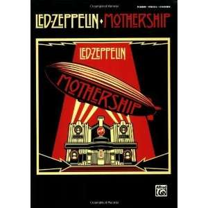Mothership Piano/Vocal/Chords [Paperback] Led Zeppelin