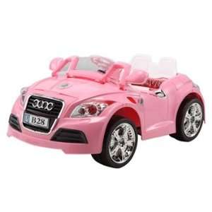 Rechargeable Kids Ride on Audi Style Pink Girl Car with