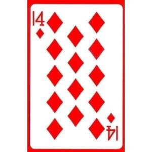 14 of Diamonds   Royal Gaff / Cards Magic Trick Toys & Games