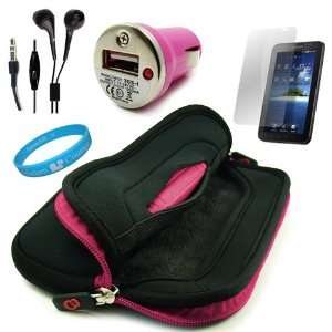 Noise Reducing Headphones with Mic + USB Car Charger with LED Power