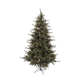 7.5 Pre Lit Mixed Pine Artificial Christmas Tree With