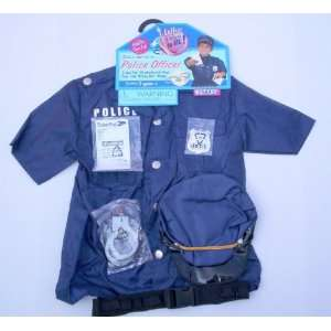 Police Officer Pretend Play Costume Outfit Toys & Games