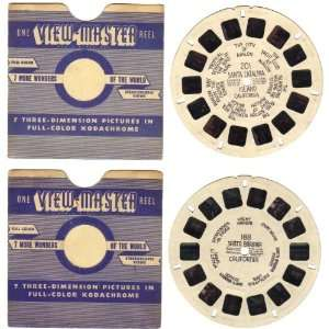 Sawyers View Master Reels #188 and #201 California