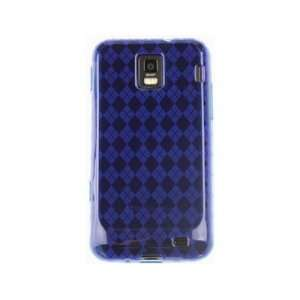 Phone Protector Cover Case Dark Blue For Samsung Focus S Cell Phones