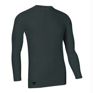 Tight Fit Compression Long Sleeve Tee, XX Large, Black