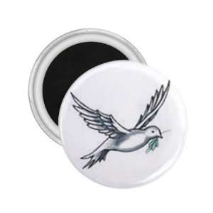 NEW Tattoo Art Bird Fridge Souvenir Magnet 2.25